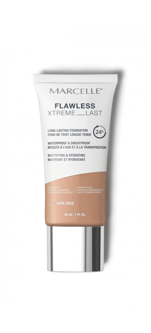 Flawless Xtreme Last Long-Lasting Foundation- Nude Beige