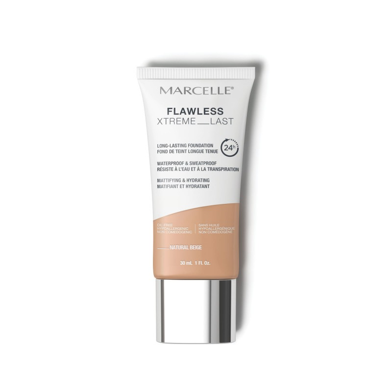 Flawless Xtreme Last Long-Lasting Foundation-Natural Beige