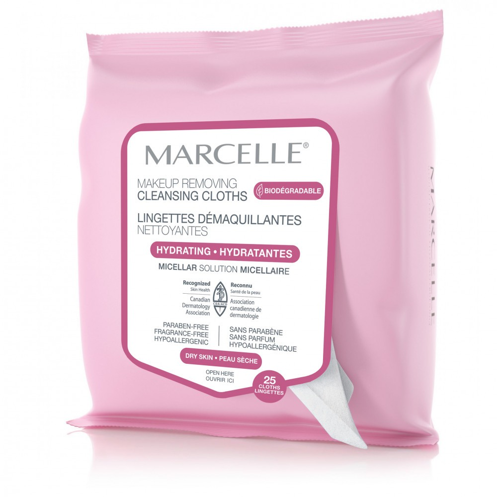 Biodegradable and Recyclable Hydrating Cleansing Cloths