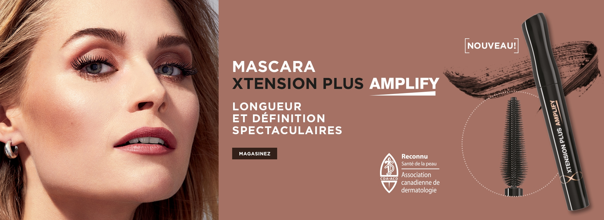 Mascara xtension plus amplify